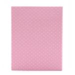 Kép 2/3 - Rózsaszín-fehér pöttyös bébi fotóalbum