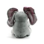 Kép 3/3 - Cuki elefánt mozgó rózsaszín fülekkel