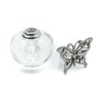 Kép 3/4 - Pillangós parfümös üveg