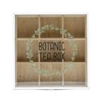 Kép 2/3 - Botanic fehér keretes teafilter tartó
