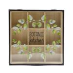 Kép 2/2 - Botanic fekete keretes teafilter tartó