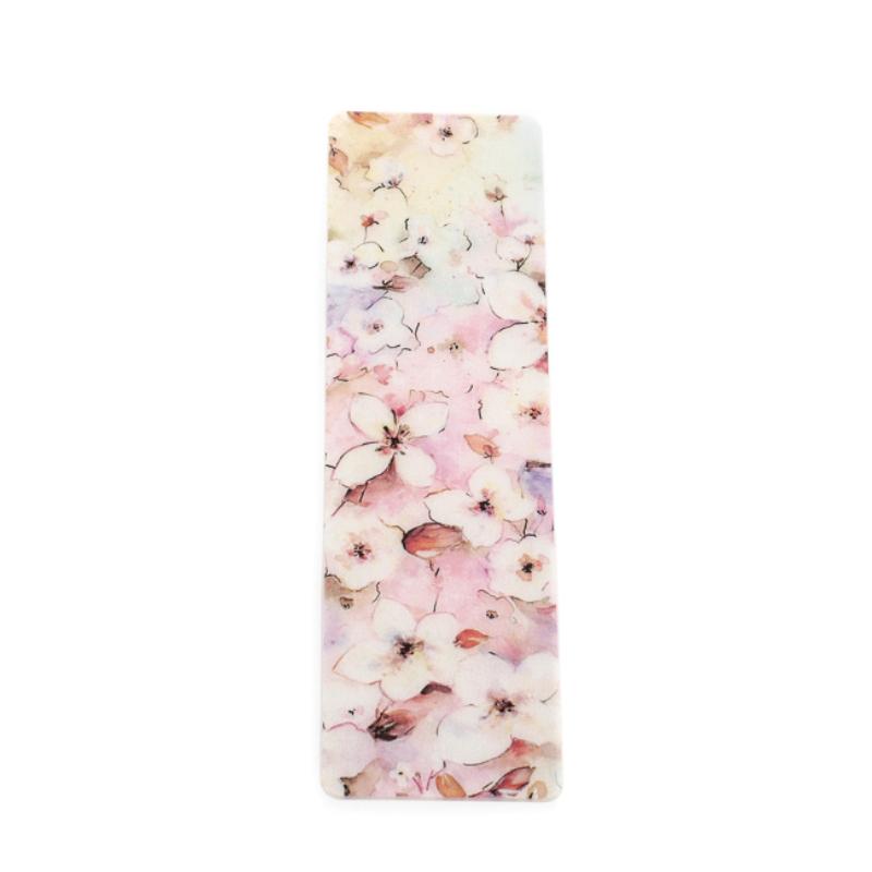 Rózsaszín tündér selyem könyvjelző