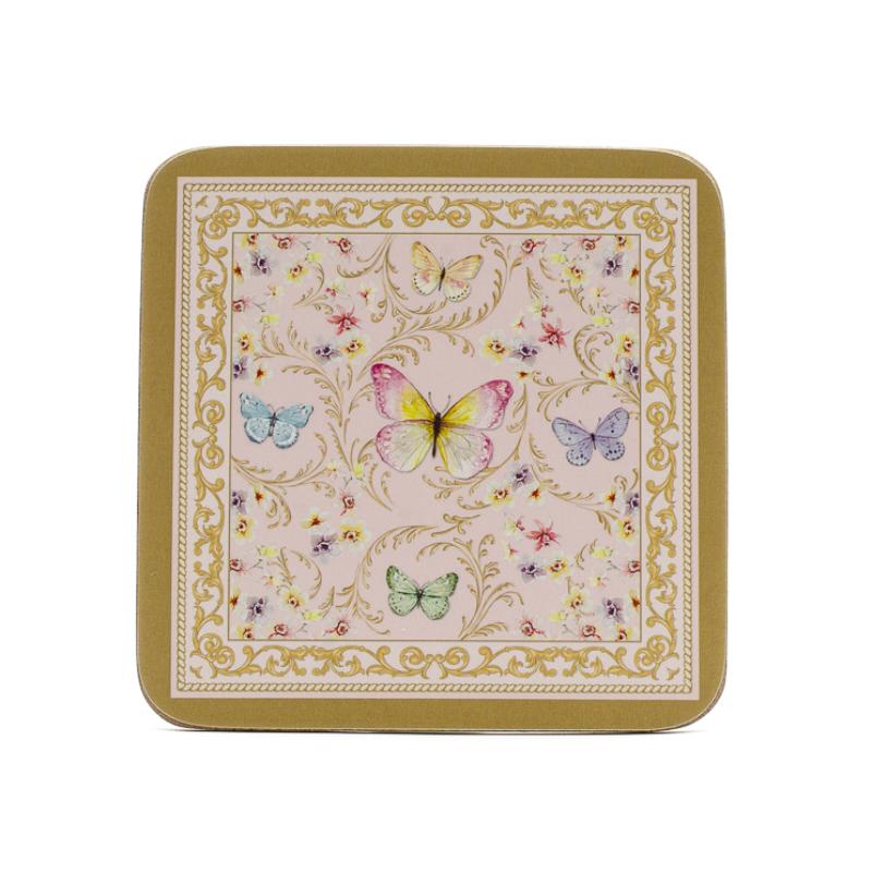 6 db-os pillangós parafa poháralátét szett