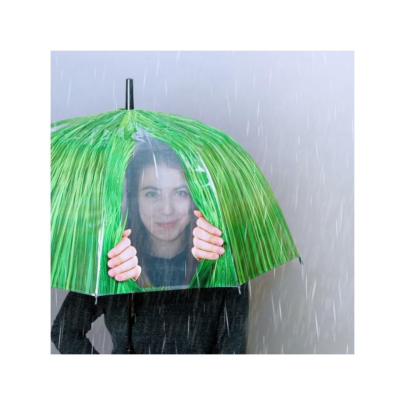 Fű hatású ablakos esernyo