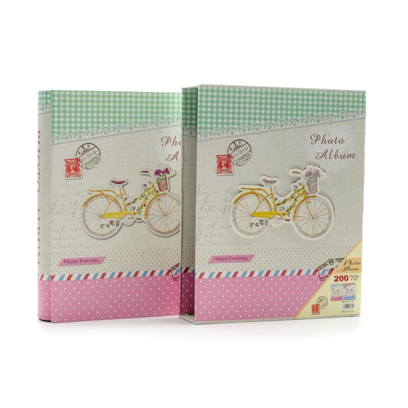 Biciklis fotóalbum