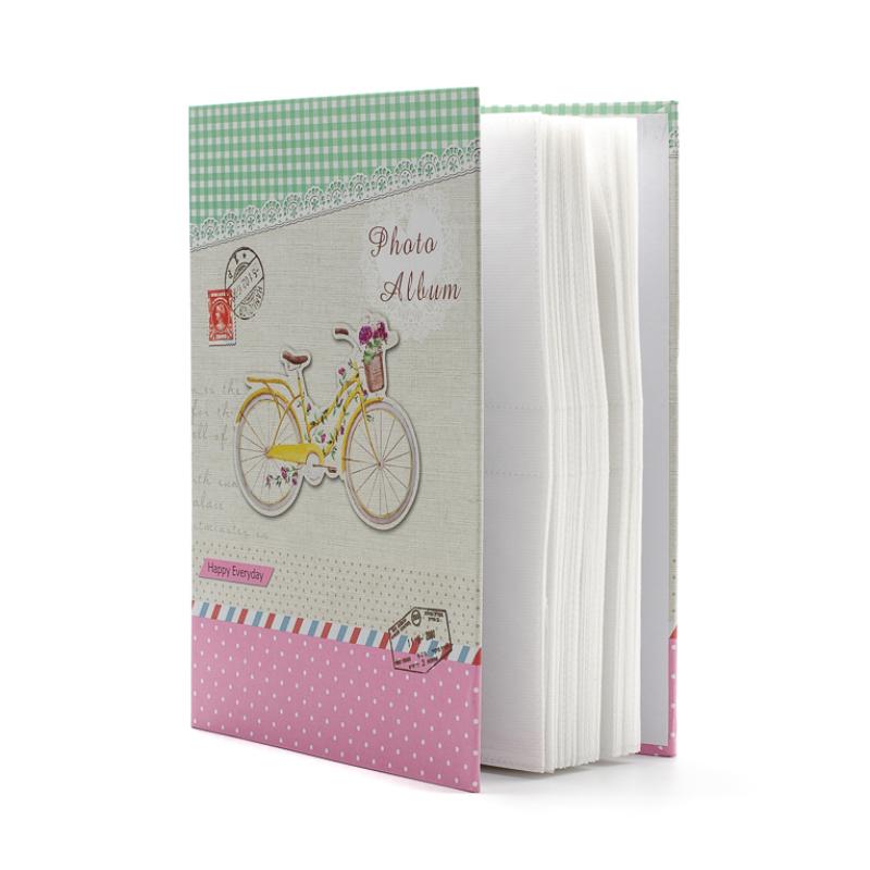 Biciklis fotóalbum díszdobozban