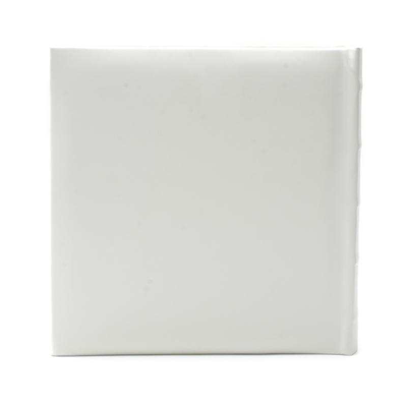 Fehér hímzett fotóalbum