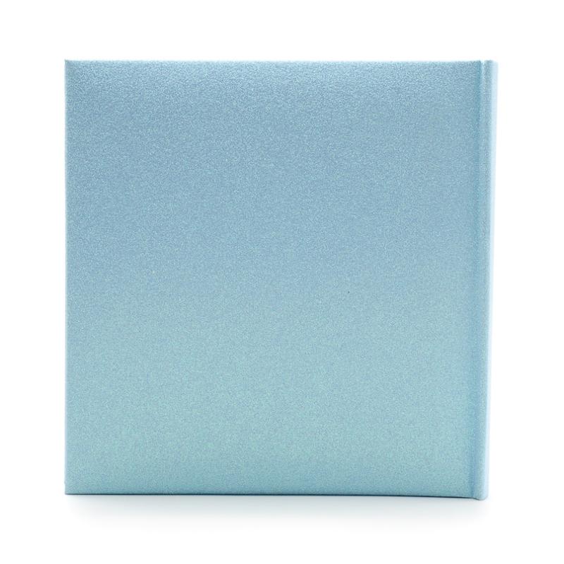 Csillogó kék bébi fotóalbum