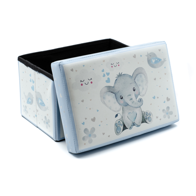 Elefántos tároló, kék