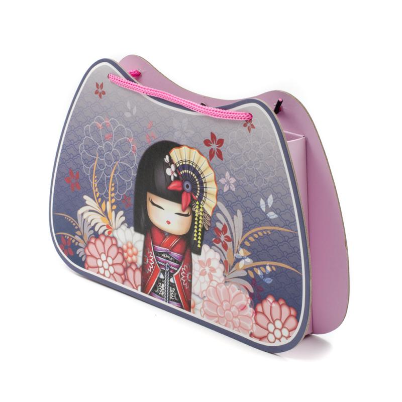 Karton táska naplóval