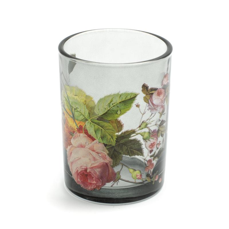 Rózsás üveg szett