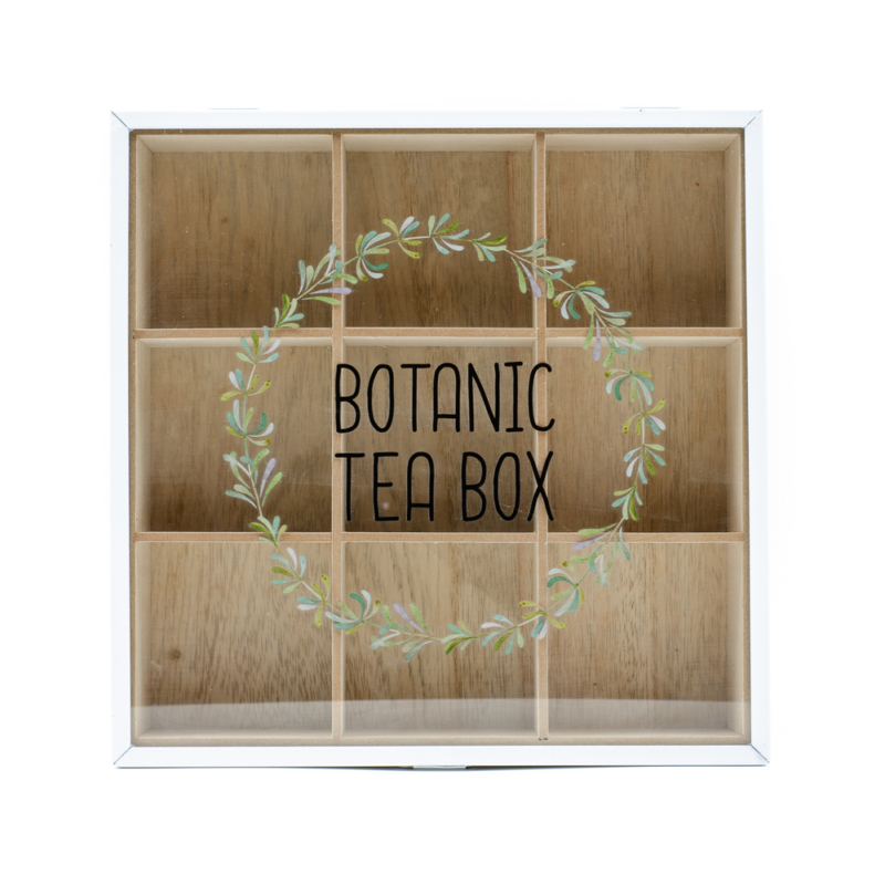Botanic fehér keretes teafilter tartó